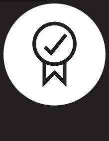 icône qualité